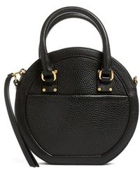 Rebecca Minkoff - Bree Circle Leather Crossbody Bag - Lyst
