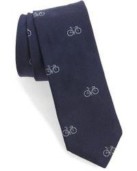 Paul Smith - Bike Silk Skinny Tie - Lyst