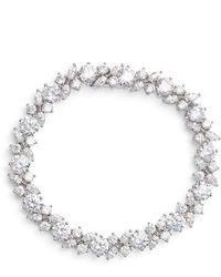 Nadri - Cluster Cubic Zirconia Bracelet - Lyst