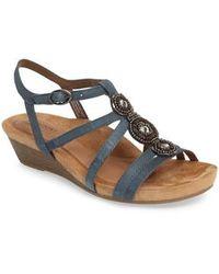 Cobb Hill - 'hannah' Leather Sandal - Lyst