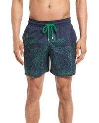 5e743da2b4 Vilebrequin Men's Moorea Flocked Bubble Turtles Swim Shorts in Blue ...