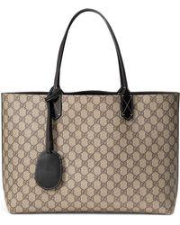 86f9bcf2c38e Gucci - Medium Turnaround Reversible Leather Tote - - Lyst