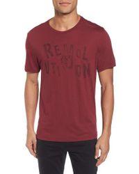 John Varvatos - Revolution Graphic T-shirt - Lyst