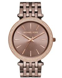 Michael Kors - 'darci' Round Bracelet Watch - Lyst
