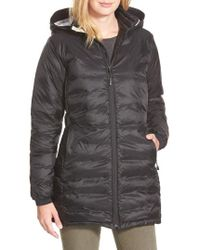 Canada Goose - 'camp' Slim Fit Hooded Packable Down Jacket, Black - Lyst
