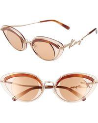 KENZO 43mm Cat Eye Sunglasses