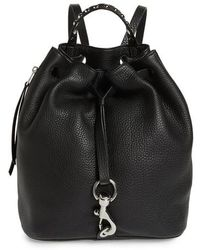 Rebecca Minkoff - Blythe Leather Backpack - Lyst