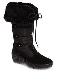 Pajar | Mia Waterproof Boot With Faux Fur Trim | Lyst