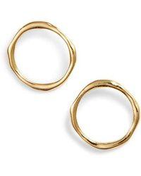 Gorjana - Quinn Delicate Stud Earrings - Lyst