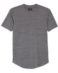Goodlife - Triblend Scallop Crewneck T-shirt - Lyst