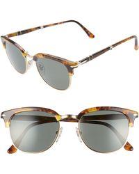 a9c80a77971 Lyst - Burberry 57mm Foldable Aviator Sunglasses in Metallic