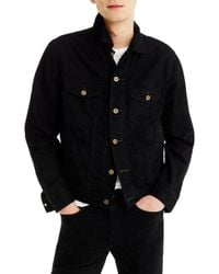 J.Crew - Regular Fit Denim Jacket - Lyst