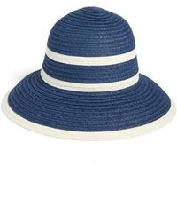 Echo - Bondi Straw Cloche Hat - Lyst