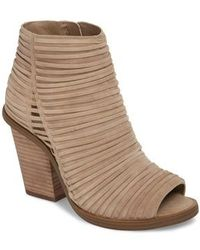 Vince Camuto | Feteena Bootie | Lyst
