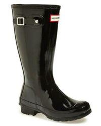 HUNTER - Original Gloss Rain Boot - Lyst