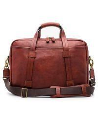 Bosca - Leather Briefcase - - Lyst