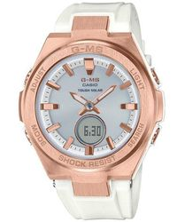 G-Shock - G-shock G-ms Ana-digi Resin Strap Watch - Lyst