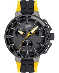 Tissot - T-race Tour De France Chronograph Silicone Strap Watch - Lyst