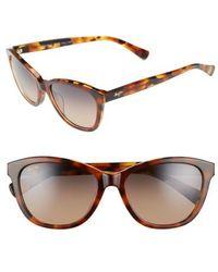 Maui Jim - Canna 54mm Polarized Cat Eye Sunglasses - Lyst