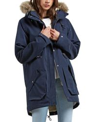 Volcom - Less Is More Parka - Sea Navy - L - Lyst