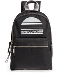 Marc Jacobs - Medium Trek Pack Backpack In Black Nylon - Lyst