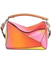 Loewe - Puzzle Ombre Calfskin Leather Bag - - Lyst f52c04985847e