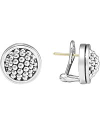 Lagos - Caviar Stud Earrings - Lyst