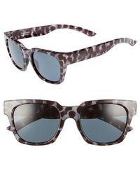 baf2dd2adb Smith -  comstock  52mm Rectangular Sunglasses - Chocolate Tortoise - Lyst