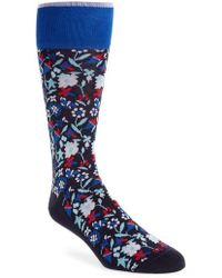 Calibrate - Tapestry Floral Socks - Lyst