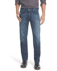 AG Jeans - 'graduate' Slim Straight Leg Jeans - Lyst