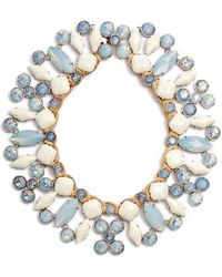 Tory Burch - Moonstone Collar Necklace - Lyst