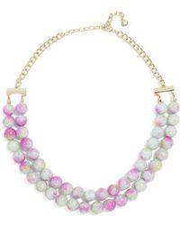 BaubleBar - Beverlyn Statement Necklace - Lyst