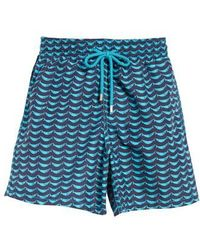 Vilebrequin - Possion Shamac Print Swim Trunks - Lyst