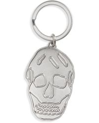 Alexander McQueen - Skull Brass Key Ring - Metallic - Lyst
