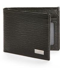 Ferragamo - Stamped Calf Wallet - - Lyst