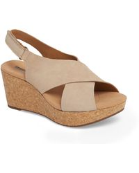 826a28e9cff Lyst - Clarks Womens Annadel Orchid Sand Sandals (c