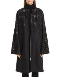 Lafayette 148 New York - Alverna Tufted Ombre Plaid Coat - Lyst