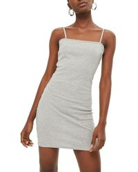 TOPSHOP - Jersey Body-con Minidress - Lyst