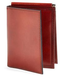 Bosca - 'old Leather' Money Clip Wallet - Lyst