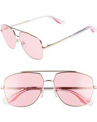 Marc Jacobs - 58mm Navigator Sunglasses - Lyst