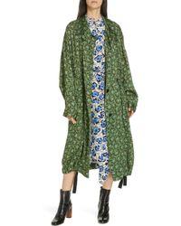 Christian Wijnants - Carma Leopard Floral Print Jacket - Lyst