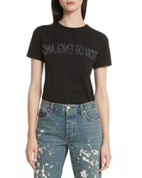 Helmut Lang - Re-edition Tom Of England Tee - Lyst