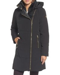 Vince Camuto   Down & Feather Fill Coat   Lyst