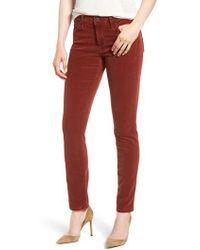 AG Jeans - 'prima' Corduroy Skinny Pants - Lyst