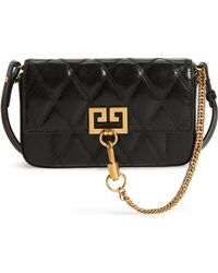 Givenchy - Mini Pocket Quilted Convertible Leather Bag - Lyst