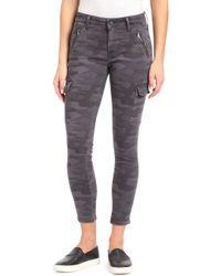 Mavi Jeans - Juliette Camo Skinny Cargo Pants - Lyst