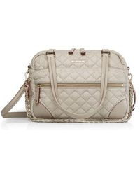 MZ Wallace - Crosby Quilted Bedford Nylon Tote - Lyst