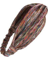 Tasha - Multicolor Stripe Head Wrap - Lyst