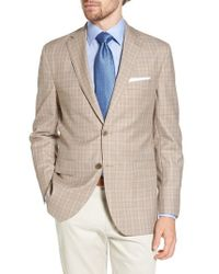 David Donahue - Arnold Classic Fit Plaid Wool Sport Coat - Lyst