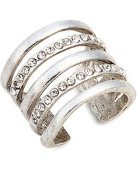 Karine Sultan - Claire Cage Ring - Lyst